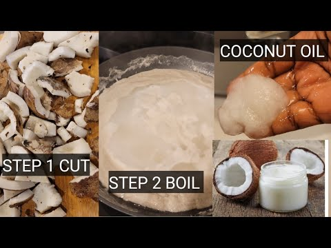 Download How I make coconut oil (at home) without machines