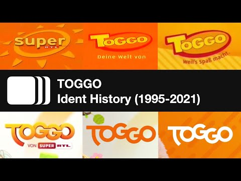 TOGGO Ident History (1995-2021)
