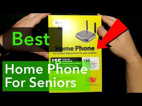 Best Landline Replacement Phone For $15/ Month!