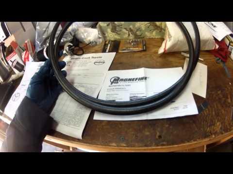 transmission cooler line hook up