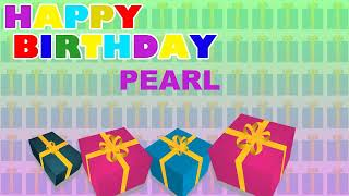 Pearl - Card Tarjeta_1749 - Happy Birthday