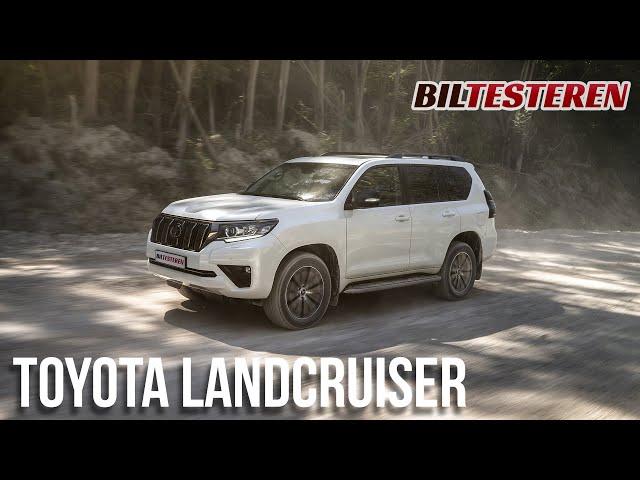 SUV'ernes far, Toyota Land Cruiser, er faceliftet (præsentation)