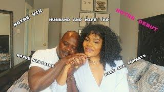 découvrez notre couple de plus/ husband and wife tag