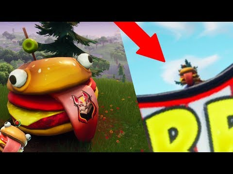 REPLACING THE DURR BURGER HEAD IN FORTNITE! (Beef Boss)