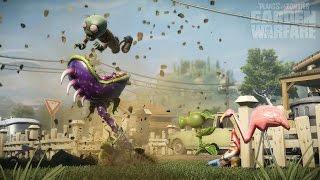 Игра как Мультик   Растения против зомби  Крутые разборки  Garden Warfare   садовые войны