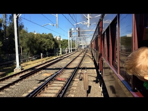 Sydney Trains Vlog 1116: Steam Train Ride