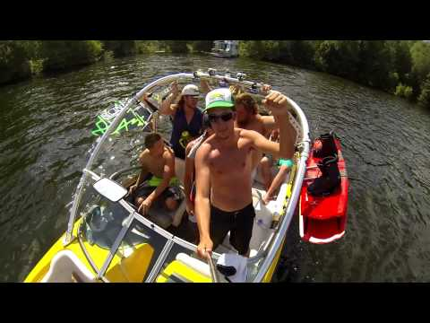 Harbourfest Houseboating Trip 2014 - Lake of the Woods - 1080p HD GoPro
