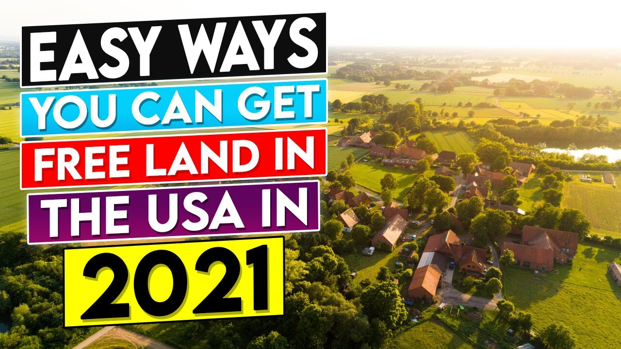 Easy Ways You Can Get Free Land in the USA In 2021- Wholesale Land Investing Simplified. Blog