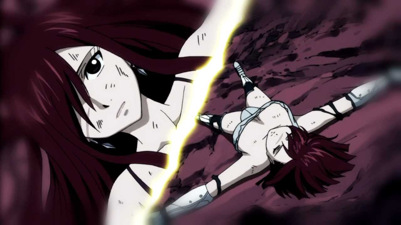 Fairy Tail Erza Vs Erza Final Battle Shattered Youtube