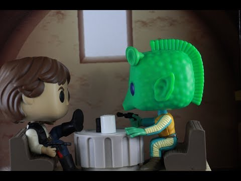 Funko POP Walmart Exclusive Star Wars Movie Moments: Cantina Face-off