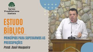 Estudo Bíblico (30/04/2020) - Igreja Presbiteriana Itatiaia
