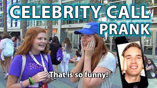 How to do CELEBRITY CALL PRANK!  Ft. PewDiePie