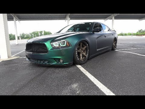 "Build Review: 2012 Dodge Charger ""Bagged Titanic""!!!"