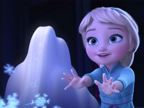 Baby Elsa from Frozen singing Let It Go Beb Elsa  Libre Soy 2015