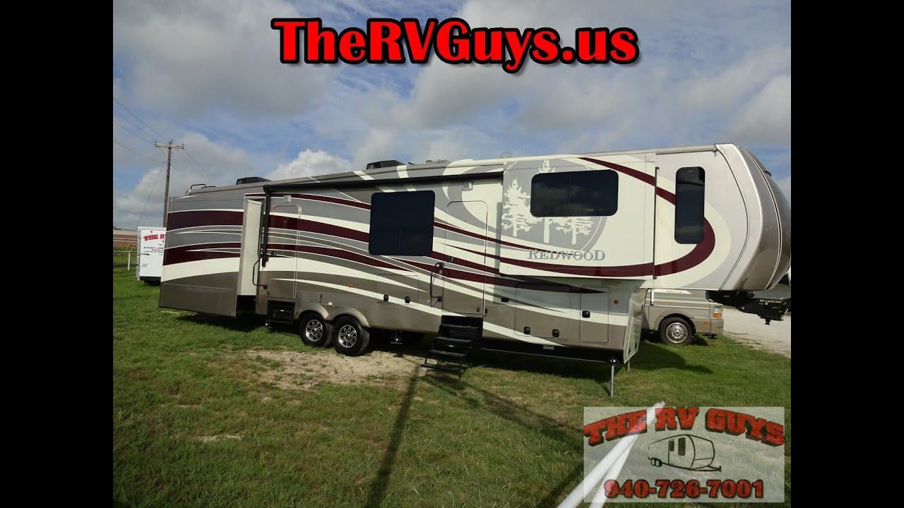 Redwood Fifth Wheel >> Luxurious residential 5 Slide Destination 5TH Wheel 2014 ...
