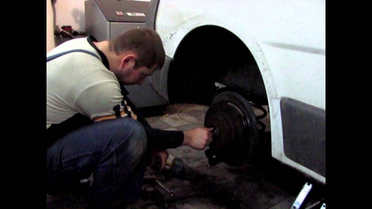 Замена заднего подшипника ступицы Renault Trafic (Opel Vivaro, Nissan Primastar)