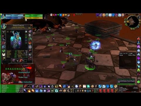World of Warcraft (Scuba Cops) BWL Live! (Gangster Trap Music) Mage PoV!
