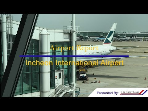 Brand New Airport!---Airport Report: Incheon International Airport(ICN/RKSI)[4K]