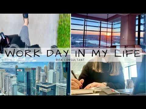WORK DAY IN MY LIFE | RISK CONSULTANT | CORPORATE 9-5 ROUTINE | BySanjna