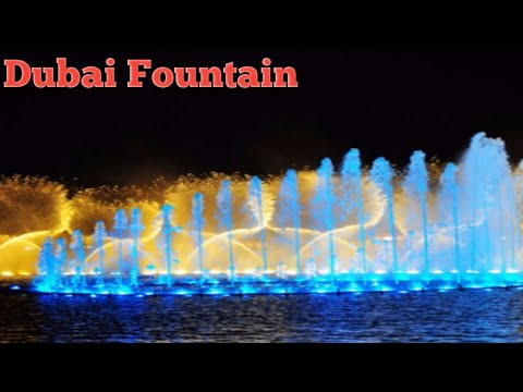 Dubai music fountain and trip to Sheikh Zayed Mosque Abu Dhabi