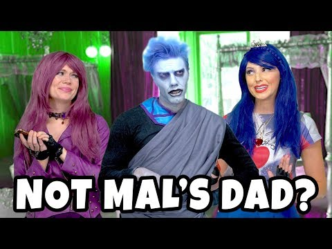 DESCENDANTS 3 HADES IS NOT MAL'S DAD? (WILL EVIE AND MAL