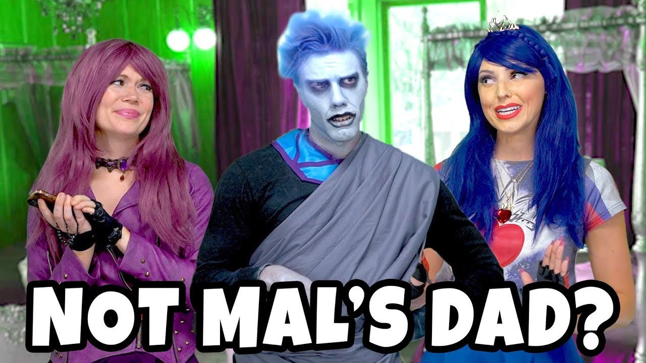 DESCENDANTS 3 HADES IS NOT MAL'S DAD? (WILL EVIE AND MAL STOP HIM ) Totally  TV