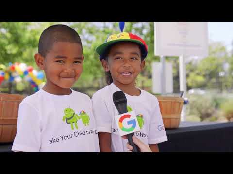 Take Your Child to Work Day at Google 2018