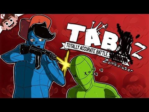 RAGDOLL ZOMBIE SURVIVAL GAME! (Totally Accurate Battle Zombielator | Chilled and Ze) |