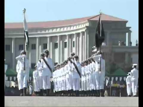 Pakistan Navy-94th Midshipmen Commissioning and Short Service Commission(SSC) Passing Out Parade