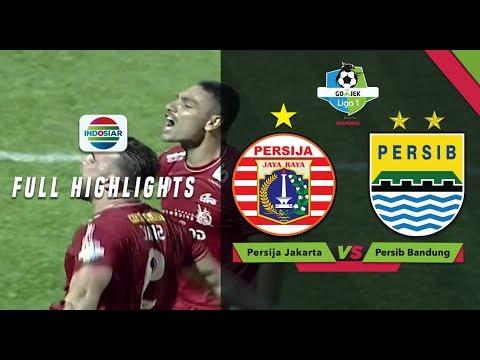 Persija Jakarta (1) Vs (0) Persib Bandung - Full Highlight | Go-Jek Liga 1 Bersama Bukalapak