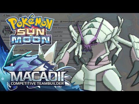 Golisopod Sun and Moon Team Builder! - Pokemon Showdown OU Team Building w. macadii (Smogon OU)