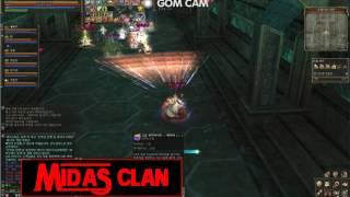 리니지2_렉스 용무기팟 VS 마이다스 신궁팟(신궁=탱)_슈페교전영상