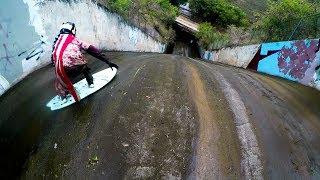DANGEROUS SEWER DRAIN SURFING! | Jamie O'Brien