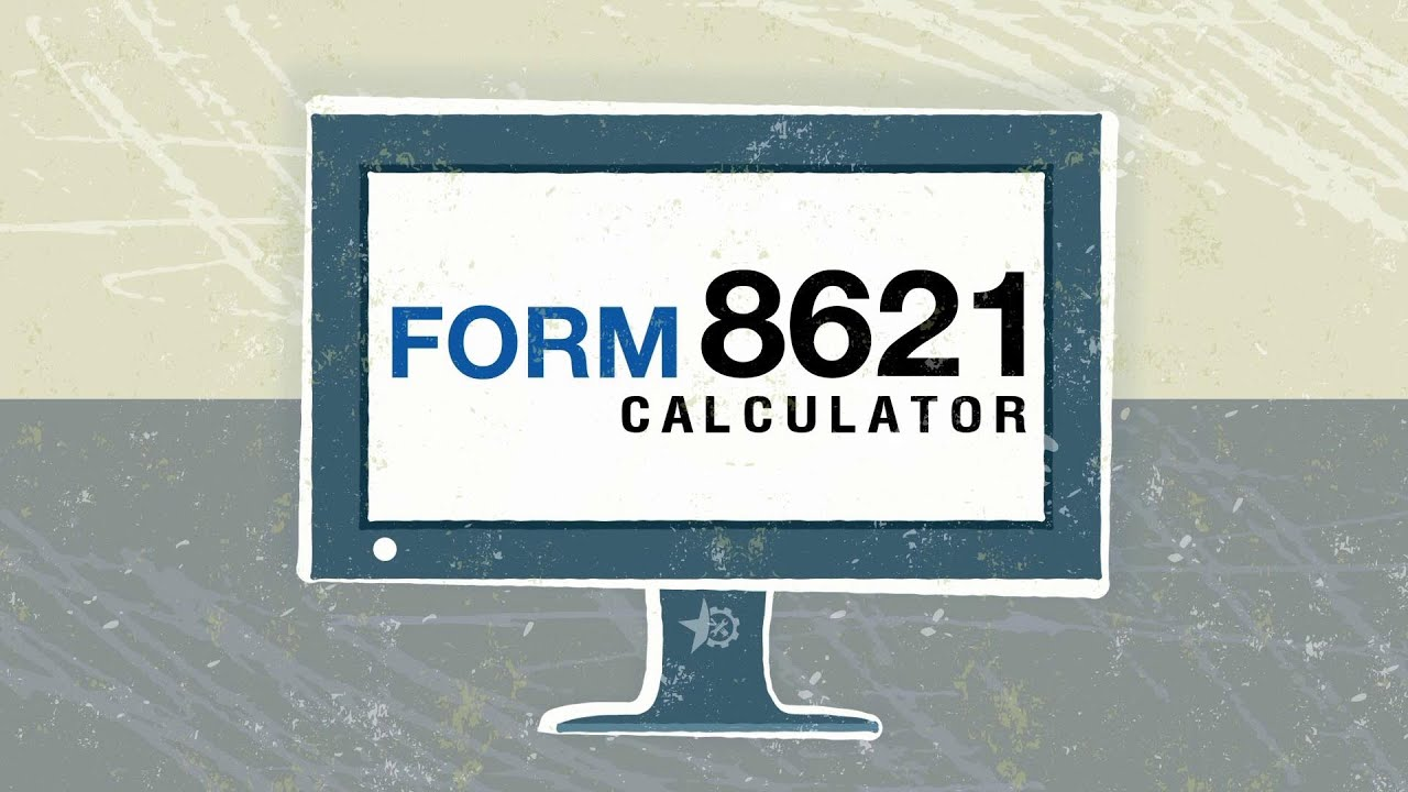 Form 8621 Calculator Introduction Youtube