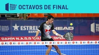 Resumen Octavos de Final (mañana) Estrella Damm Valencia Open 2019 | World Padel Tour