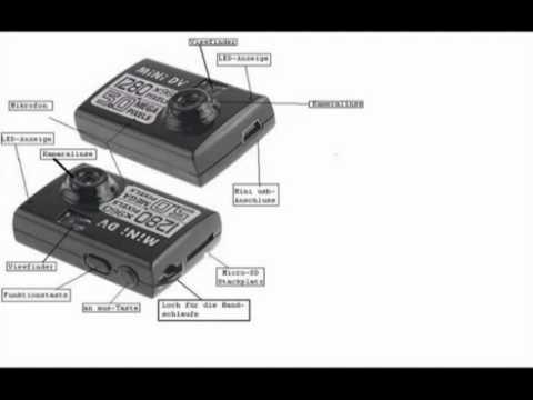 tomtop 5mp hd smallest mini dv smallest dv in the world youtube rh youtube com Camera Mini DV Driver Mini DV MD-80 Software
