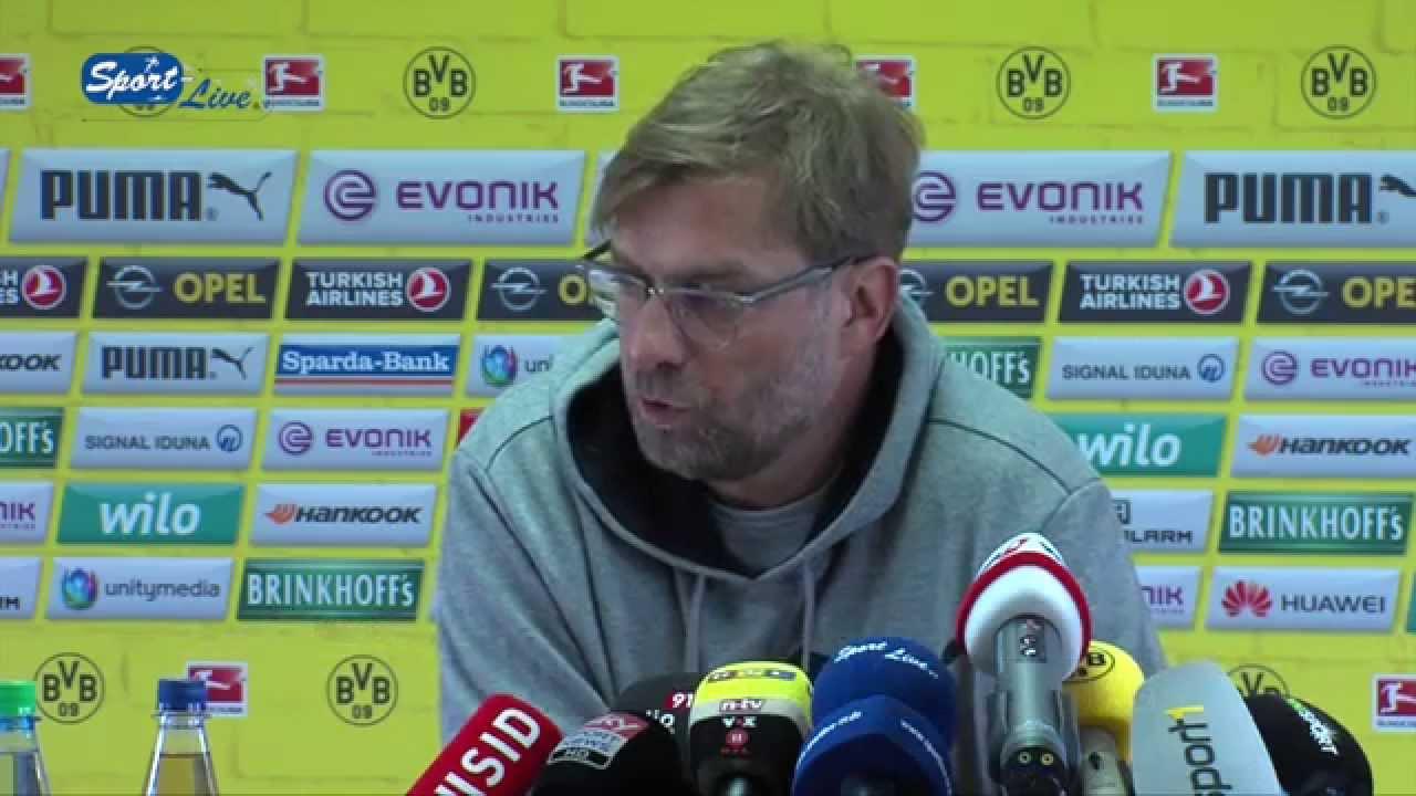 Pressekonferenz Bor. Dortmund - TSG 1899 Hoffenheim 06.04.2015