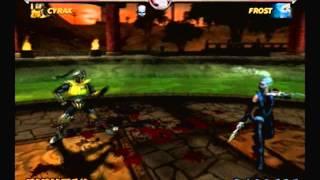 Mortal Kombat Deadly Alliance-Cyrax Arcade Ladder