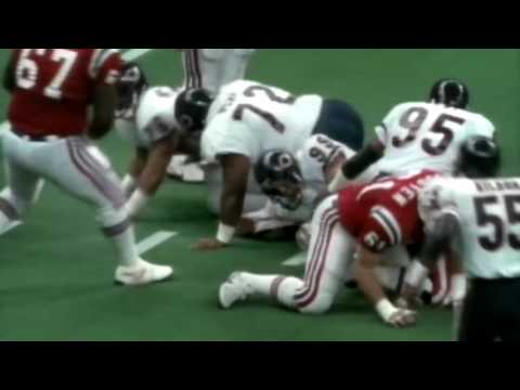 Super Bowl XX; Bears vs Patriots highlights