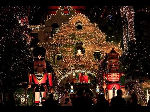 Mission Inn Festival of Lights in Riverside, CA - Mission Inn Festival Of Lights In Riverside, CA - YouTube
