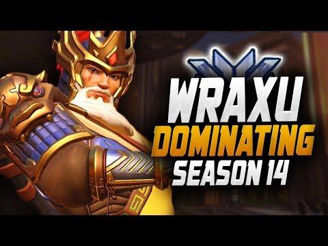 Wraxu - World Rank #1 Hanzo! [ OVERWATCH SEASON 14 TOP 500 ] thumbnail