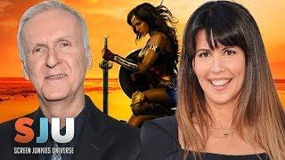 James Cameron Has Strong Words For Wonder Woman - SJU