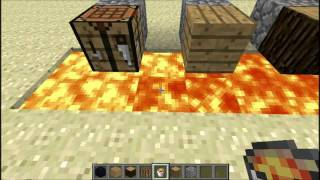 Repeat youtube video Opening the nether portal with lava