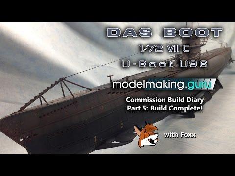 Commission Build Diary:  Das Boot U96 Part 5