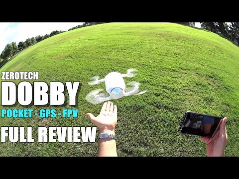 ZEROTECH DOBBY - Full Review - [UnBox, Inspection, Setup, Flight/Range Test, Pros & Cons]