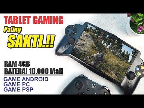 Unboxing TABLET GAMING SAKTI..!! 4GB RAM, BATERAI 10.000 MaH Bisa Main 18 Emulator Games.!!