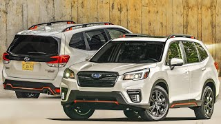 2021 Subaru Forester Sport Crossover With 1.8-Liter Turbocharged Four-Cylinder Boxer Engine