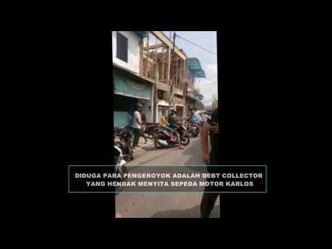 Polisi Dikeroyok Debt Collector