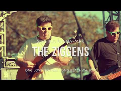 the ZIGGENS - Surfing Buena Park - One Love festival 2017