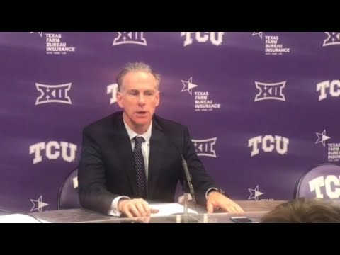 TCU's Jamie Dixon did not see the losing streak coming